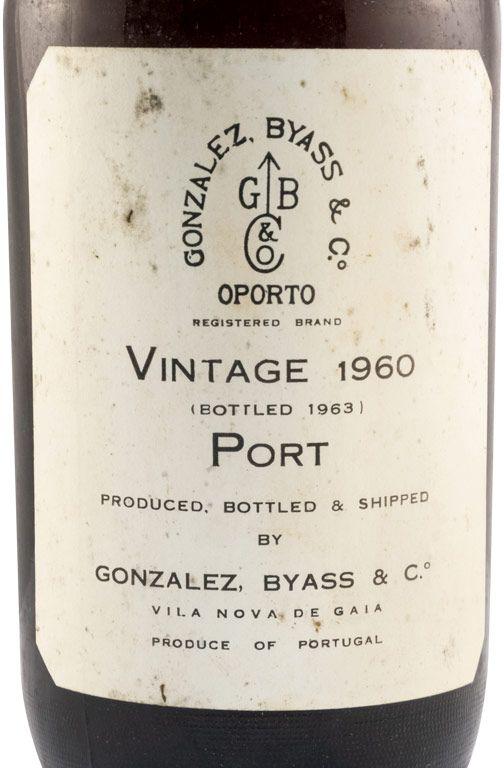 1960 Gonzalez Byass Vintage Porto