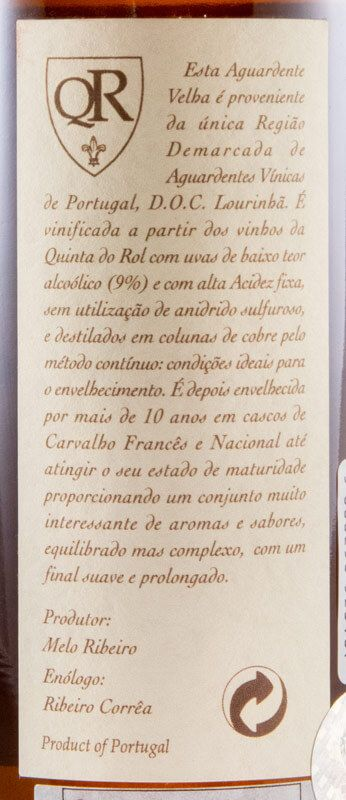 Aguardente Vínica Quinta do Rol XO 50cl