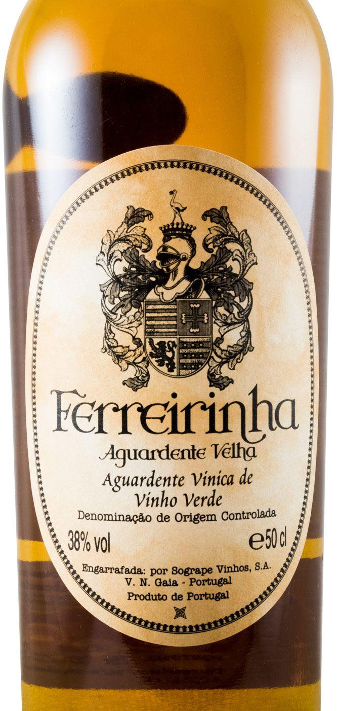 Aguardente Vínica Ferreirinha Velha 50cl