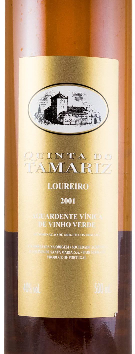 2001 Aguardente Vínica Quinta do Tamariz Loureiro 50cl