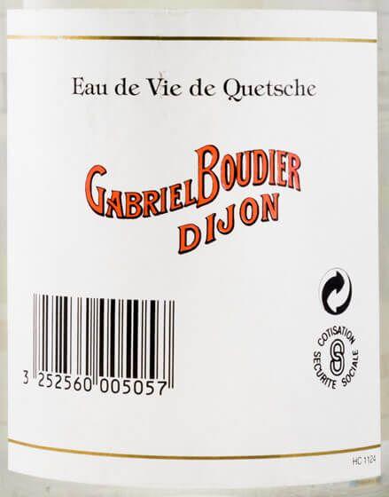 Aguardente Gabriel Boudier Quetsche
