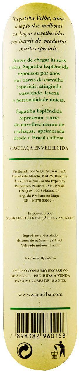 Cachaça Sagatiba Velha