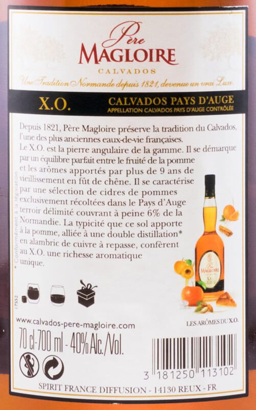 Calvados Pere Magloire XO Pays D'Auge
