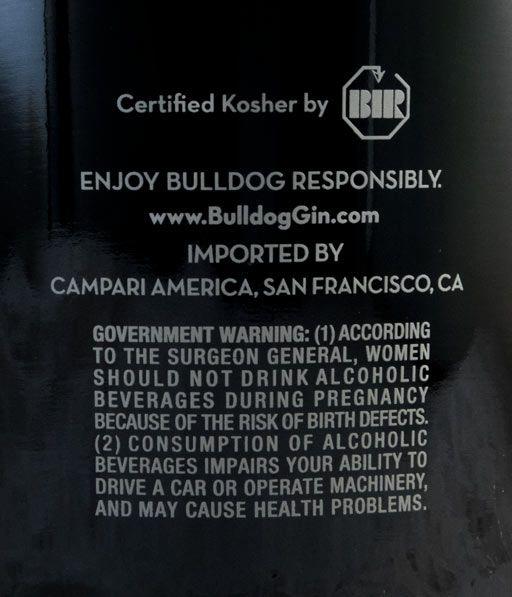 Gin Bulldog 1.75L