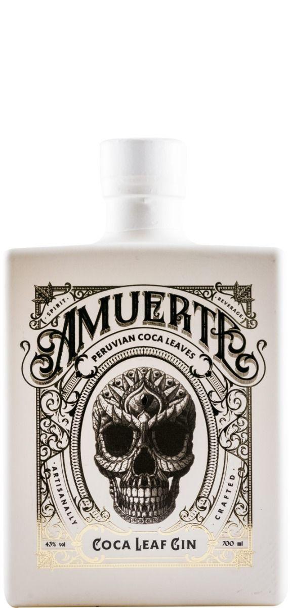 Gin Coca Leaf Amuerte White Edition