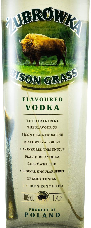 Vodka Zubrówka 1L