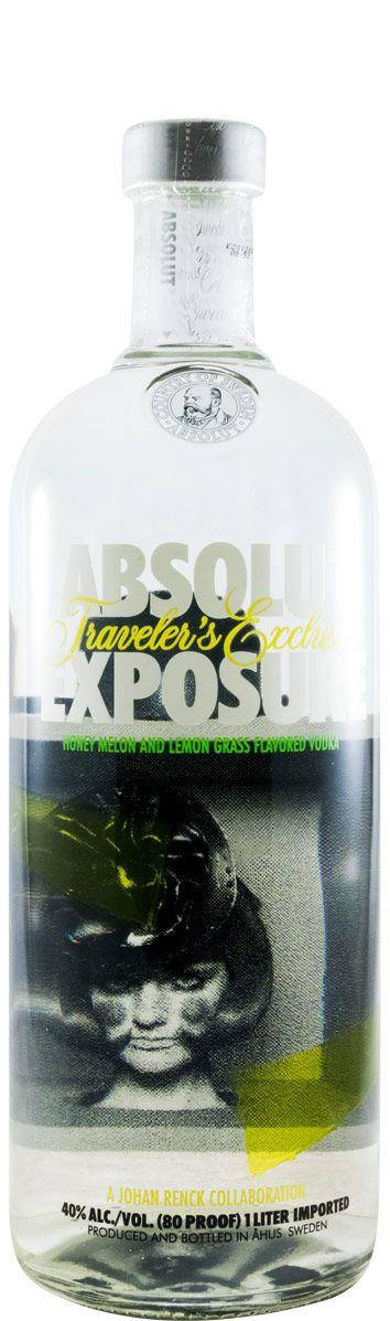 Vodka Absolut Exposure 1L