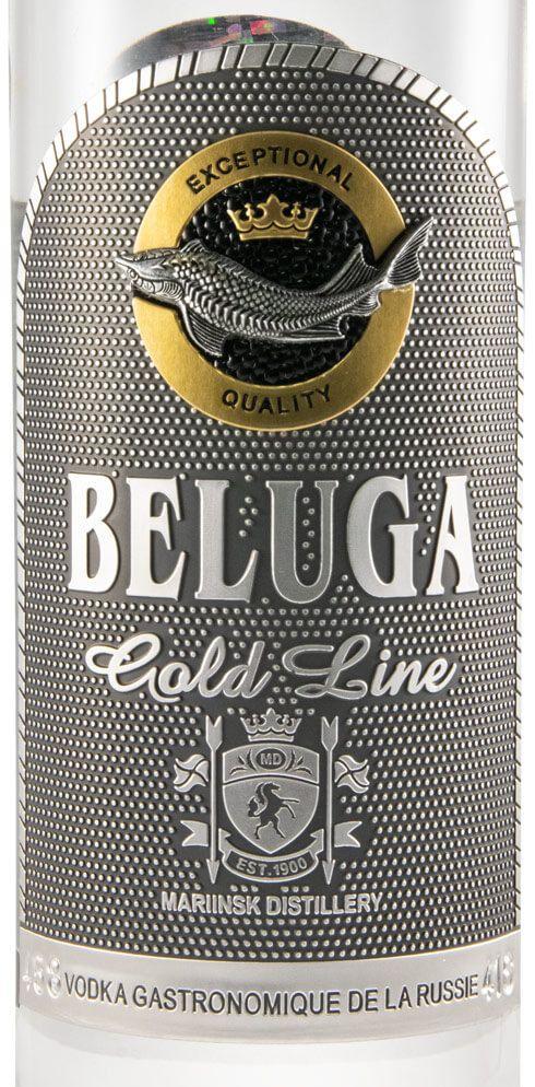 Vodka Beluga Gold Line 70cl