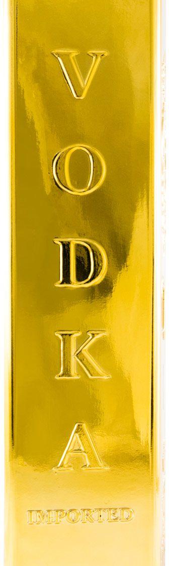 Vodka 3 Kilos Gold 999.9 1L