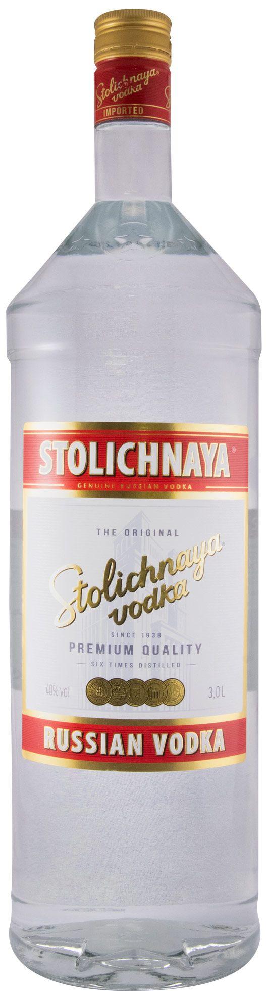 Vodka Stolichnaya 3L