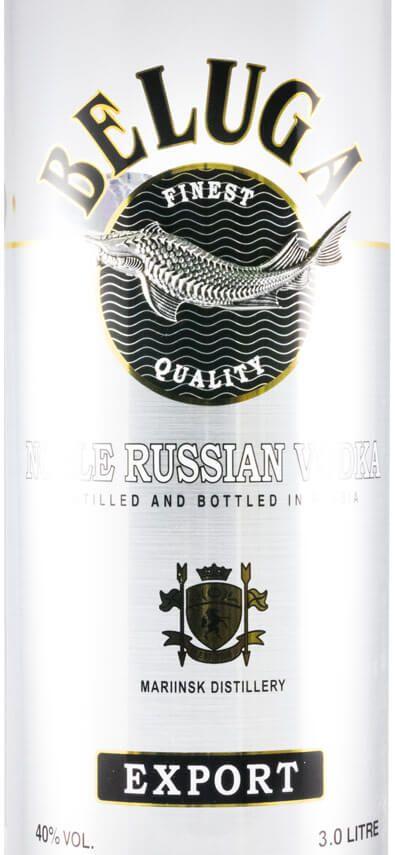 Vodka Beluga Noble 3L