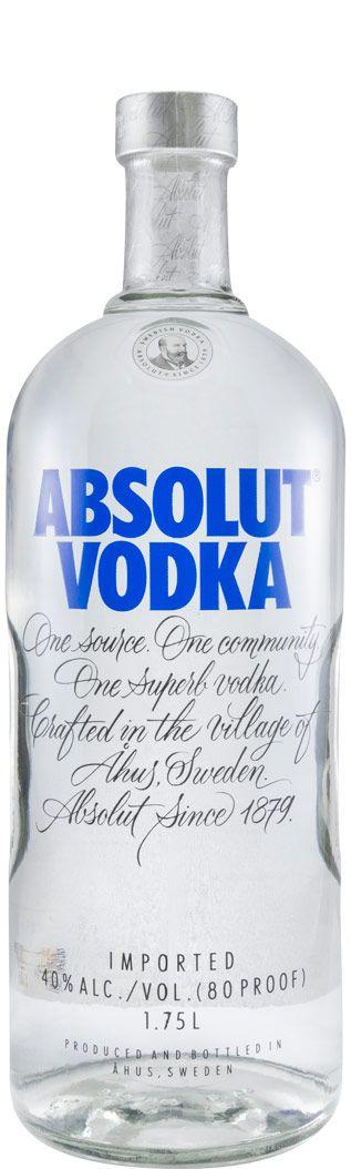 Водка Absolut Blue 1,75 л