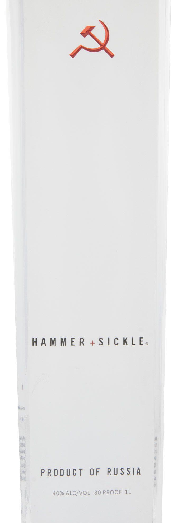 Vodka Hammer + Sickle 1L