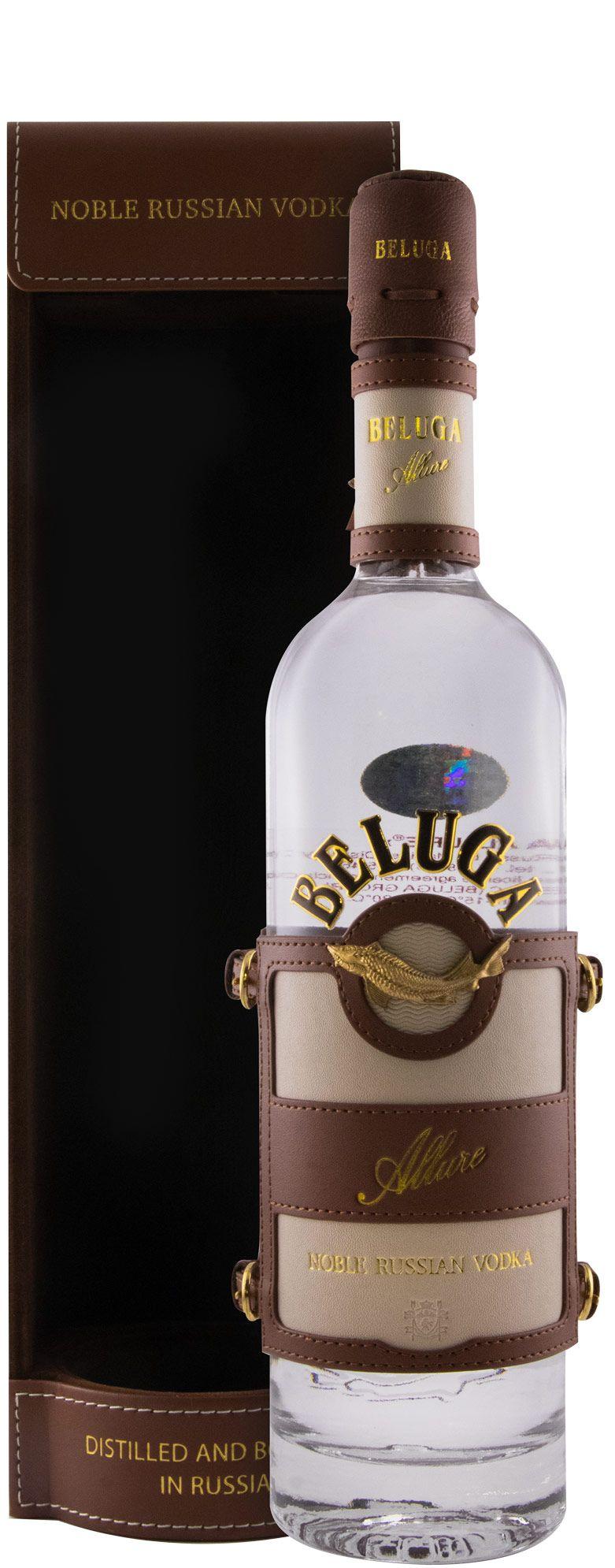 Vodka Beluga Allure In Leather
