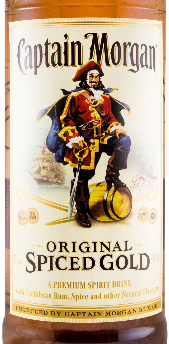Rum Captain Morgan Spiced Gold 3L