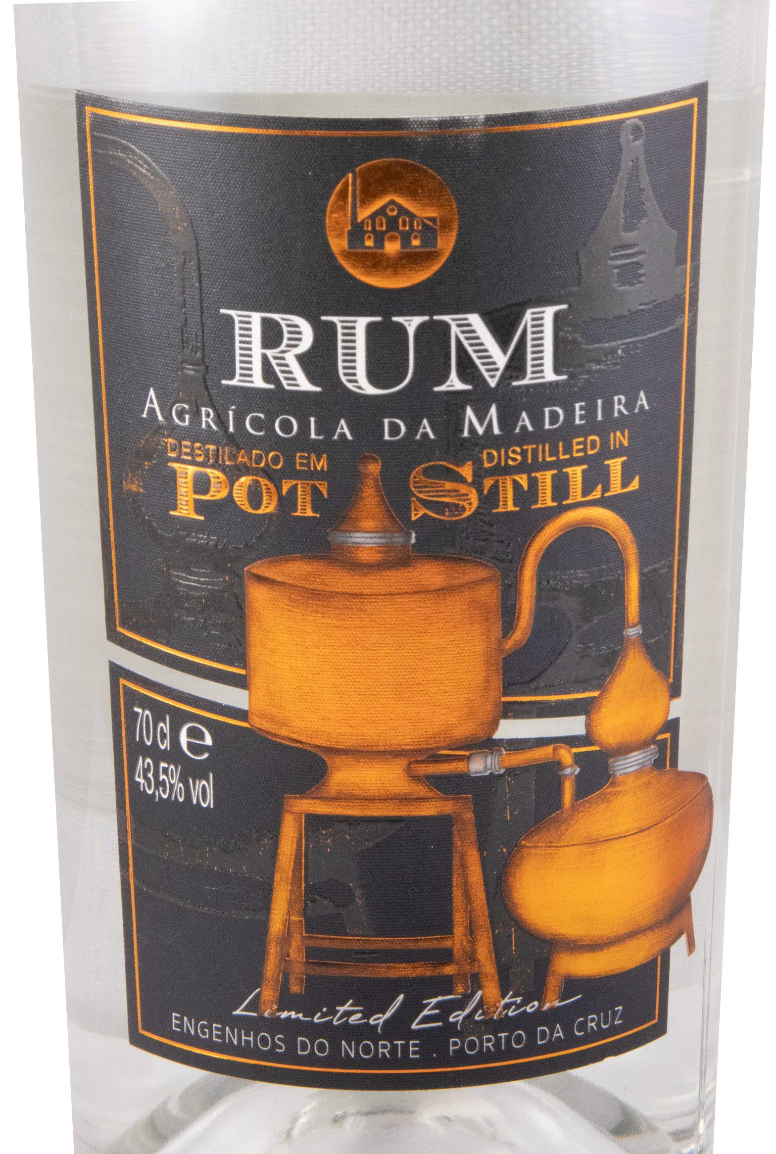 Rum Agrícola da Madeira Pot Still