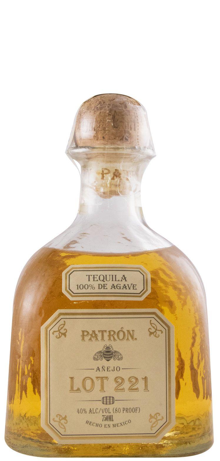 Tequila Patrón Añejo Lot 221 75cl