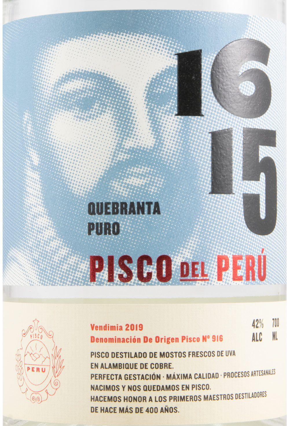 Spirit Pisco 1615 Puro Quebranta