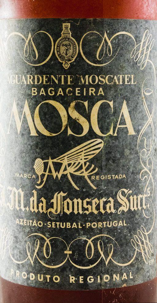 Aguardente Bagaceira Mosca Jose Maria da Fonseca Moscatel (rolha de cortiça) 1L