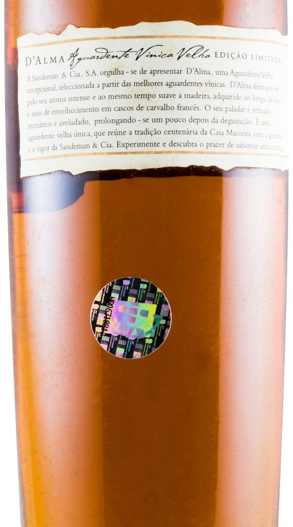 Wine Spirit D'Alma Velha XO 50cl