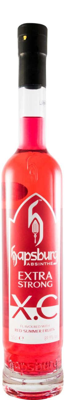 Absinto Extra Strong X. C. Red Summer Fruits Hapsburg 89.9% 50cl