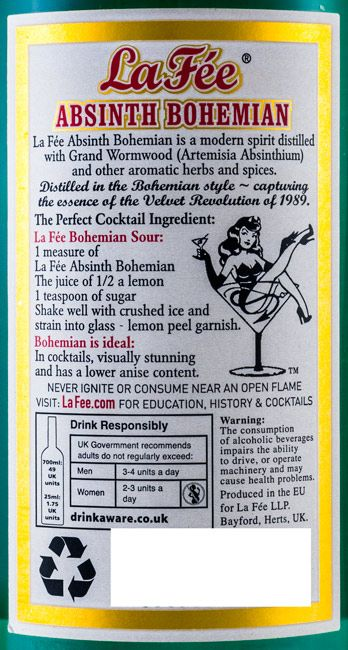 Absinth La Fée Bohemian