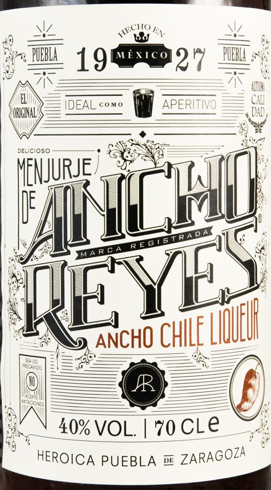 Licor Ancho Reyes Chile