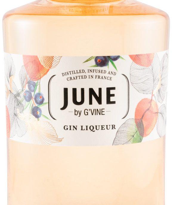 Licor de Gin June G'Vine