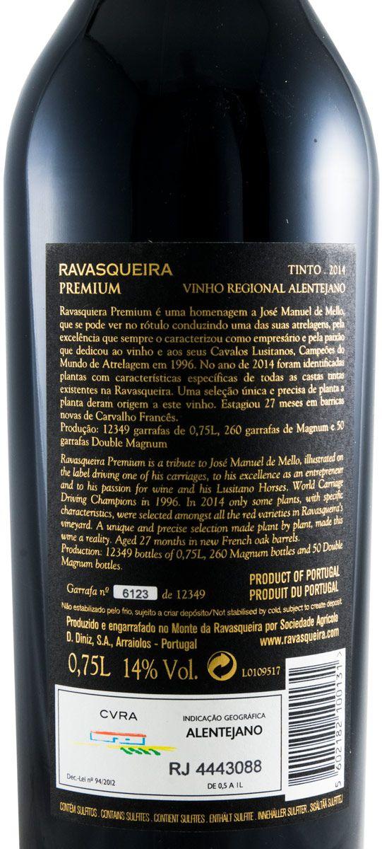 2014 Monte da Ravasqueira MR Premium tinto