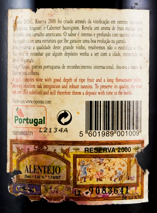 2000 Herdade do Esporão Reserva tinto
