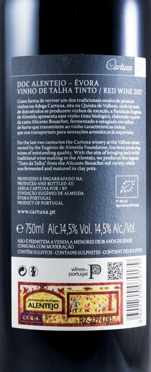 2017 Cartuxa Vinho de Talha organic red