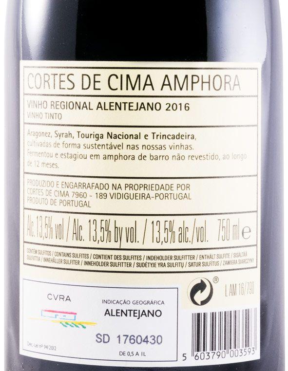 2016 Cortes de Cima Amphora tinto