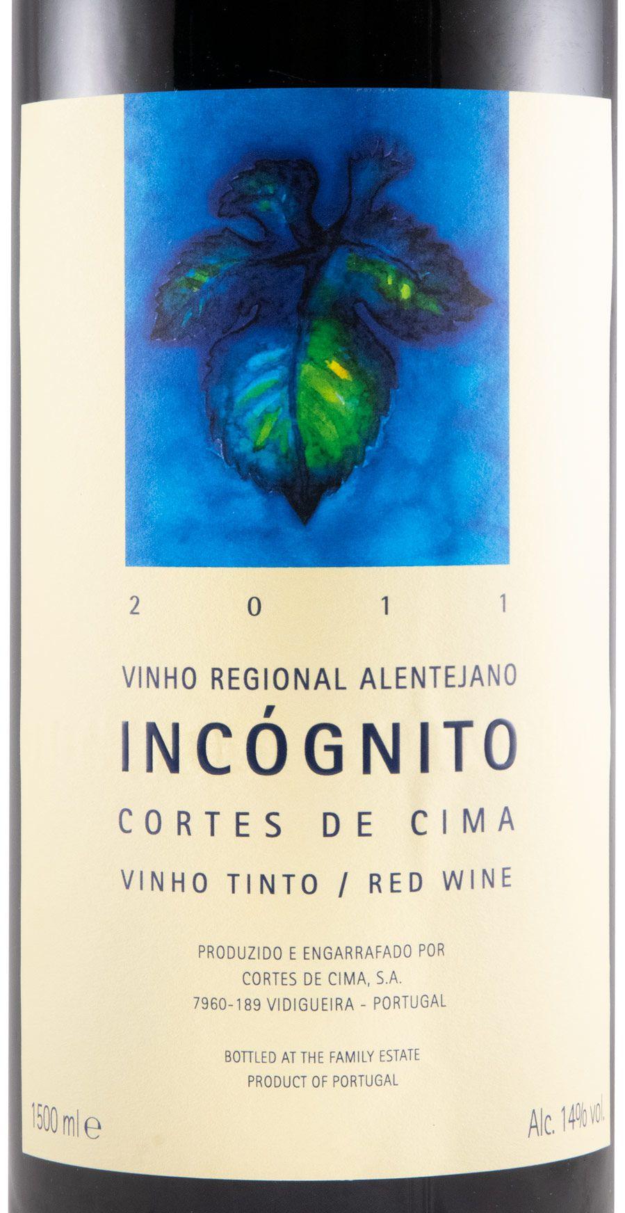 2011 Cortes de Cima Incógnito tinto 1,5L