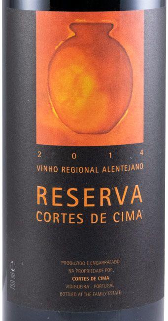 2014 Cortes de Cima Reserva red