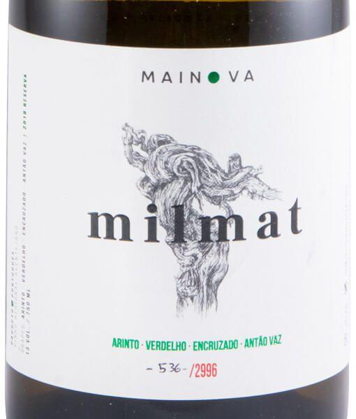 2018 Milmat Reserva white