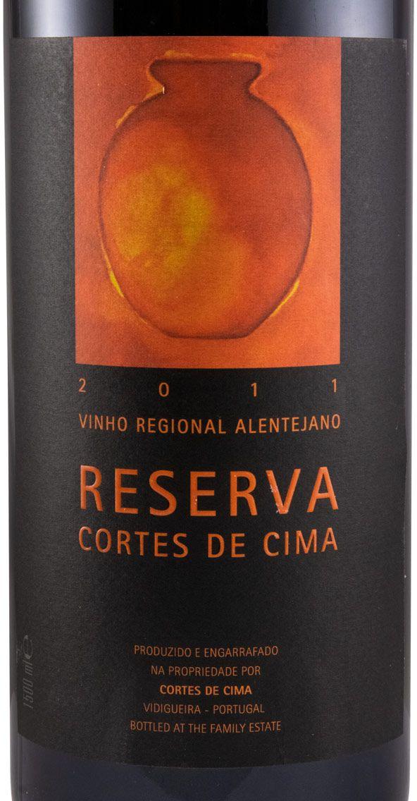 2011 Cortes de Cima Reserva red 1.5L