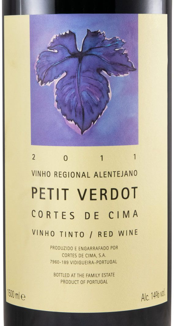 2015 Cortes de Cima Petit Verdot tinto 1,5L