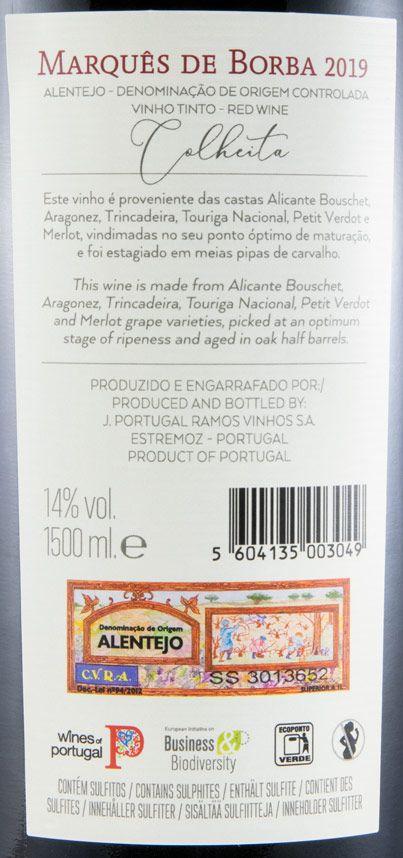 2019 João Portugal Ramos Marquês de Borba tinto 1,5L