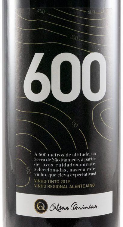 2019 Altas Quintas 600 red