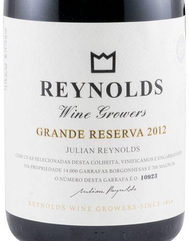 2012 Julian Reynolds Grande Reserva tinto