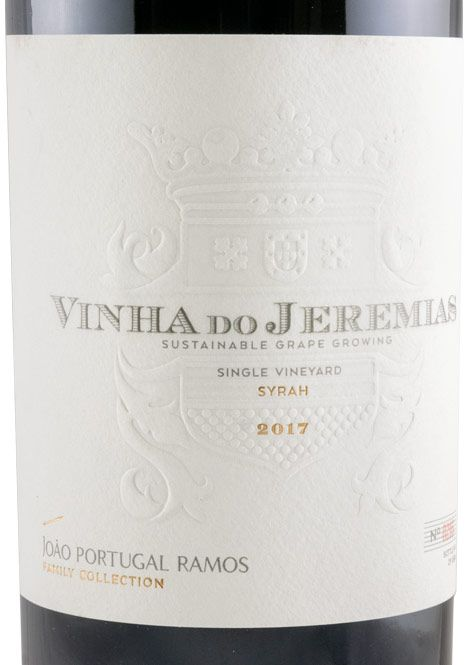 2017 João Portugal Ramos Vinha do Jeremias Syrah tinto
