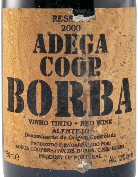 2000 Borba Reserva Cortiça red