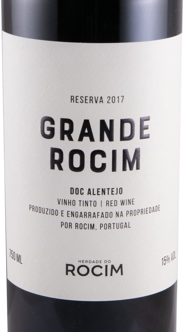 2017 Herdade do Rocim Grande Rocim Reserva tinto