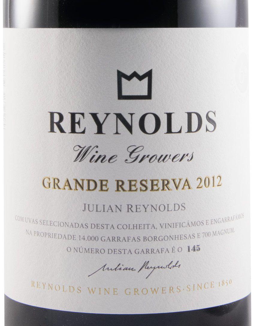 2012 Julian Reynolds Grande Reserva tinto 1,5L