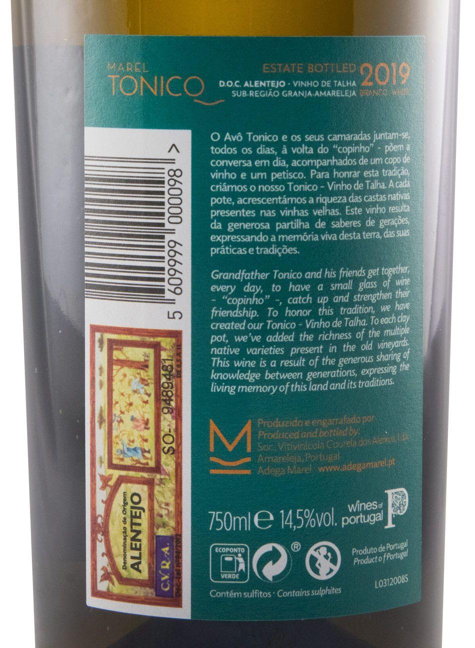 2019 Tonico Vinho de Talha white