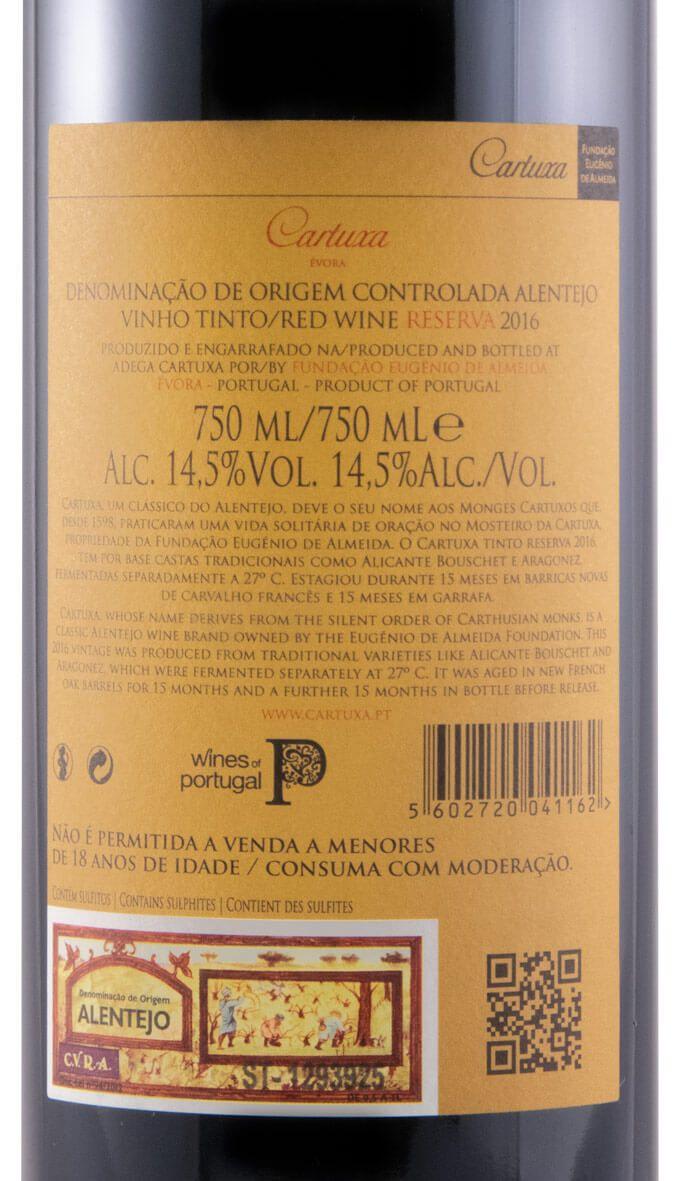 2016 Cartuxa Reserva tinto