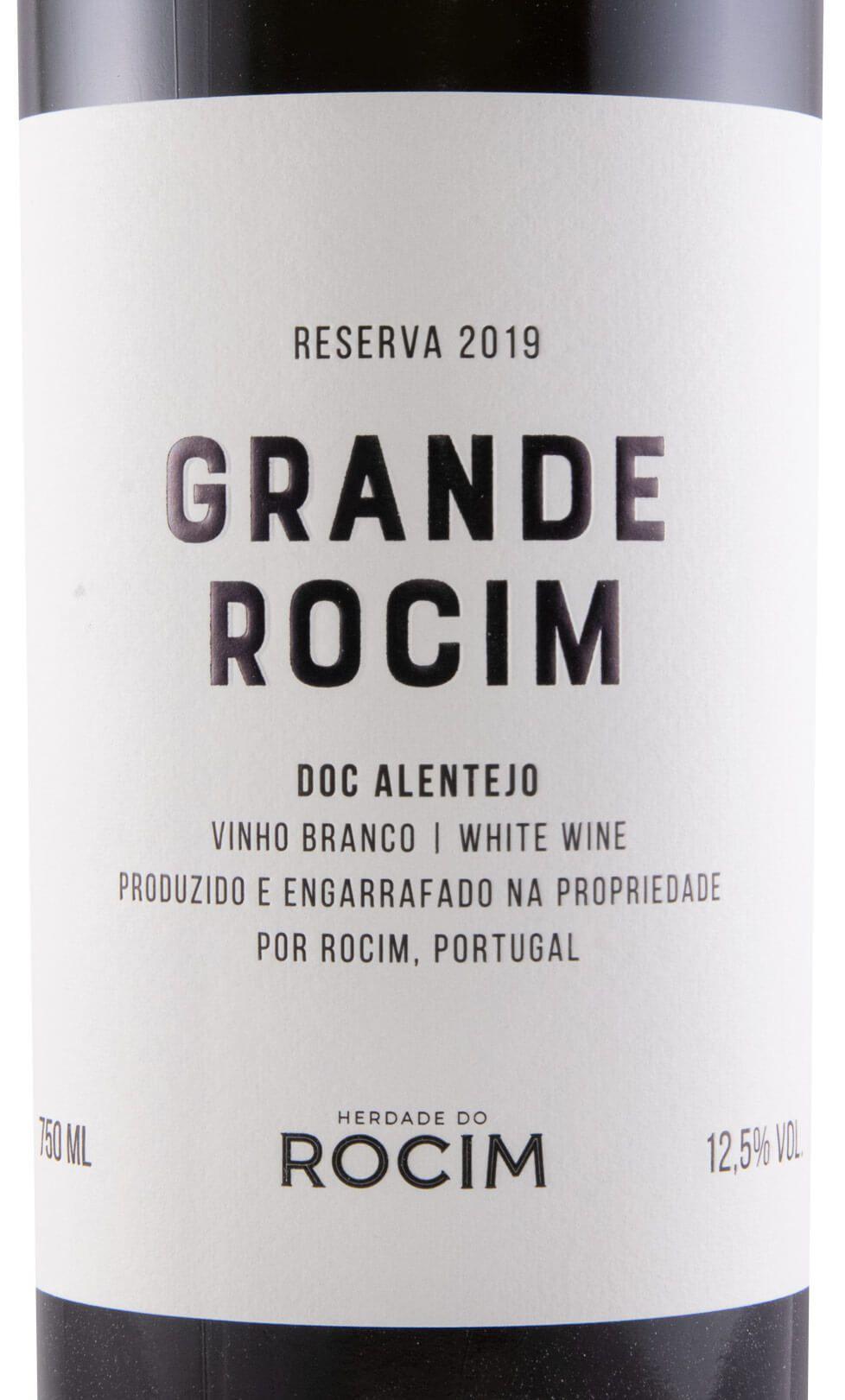 2019 Herdade do Rocim Grande Rocim Reserva branco