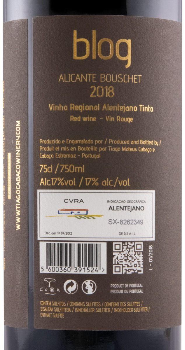 Conjunto Blog Special Edition by Tiago Cabaço Petit Syrah + Touriga Nacional + Alicante Bouschet tinto