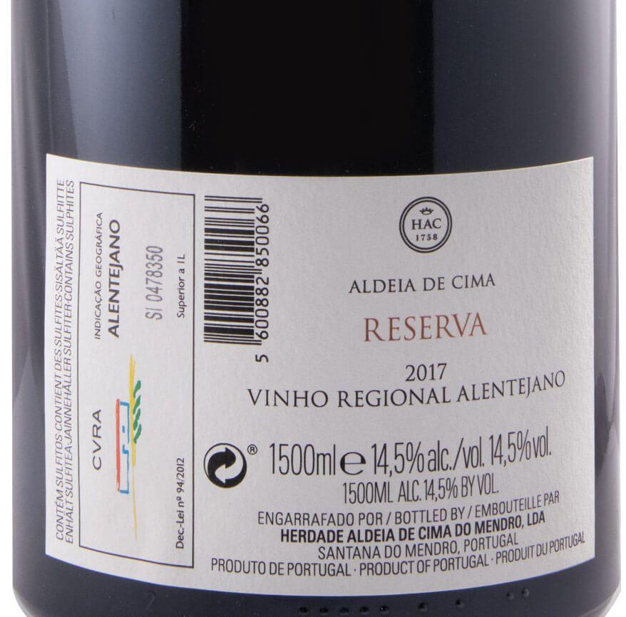 2017 Herdade Aldeia de Cima Reserva red 1,5L