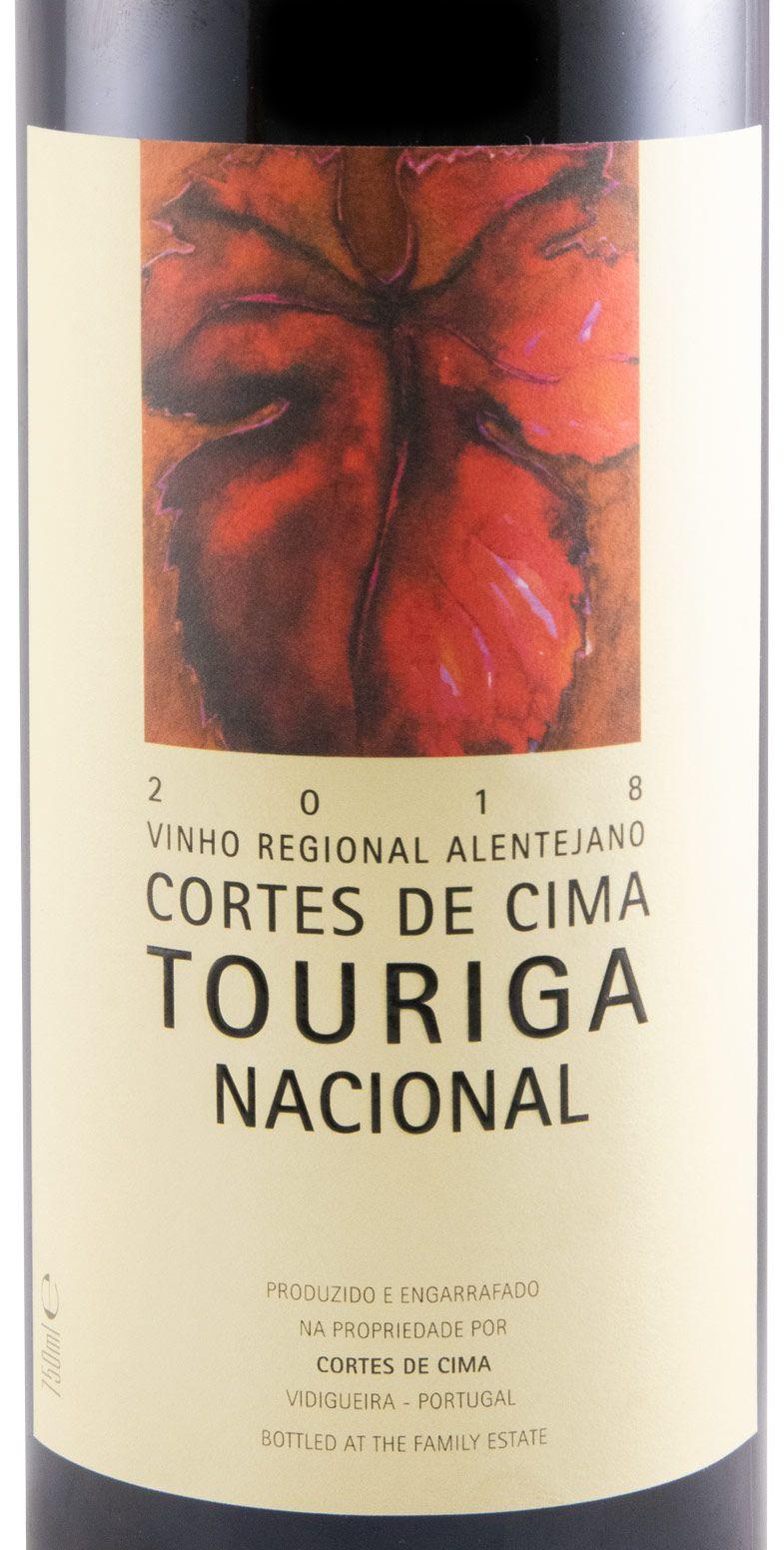 2018 Cortes de Cima Touriga Nacional tinto